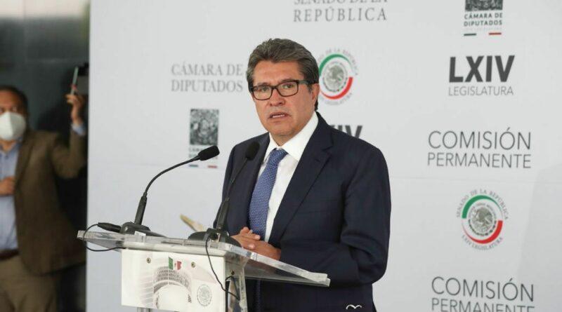 Aprobar extraordinario privilegia interés superior de la Nación: Ricardo Monreal