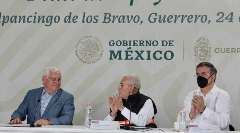 Diálogo con EU incluirá al estado de Guerrero: Ebrard